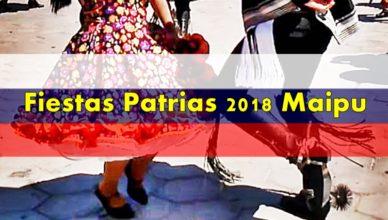 baile cueca fiestas patrias maipu 2018