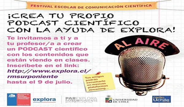¿Te imaginas producir un programa radial sobre temas científicos o guiar a tus alumnos/as en una investigación científica?