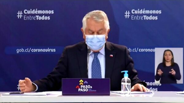 Asi lo informa hoy el Ministro de Salud Enrique Paris en nuevo reporte al pais.